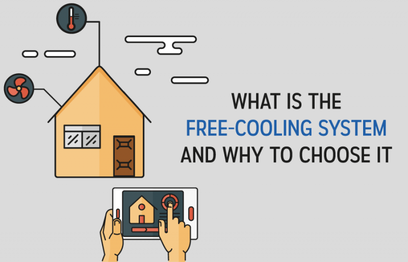 What is the free-cooling system and why to choose it