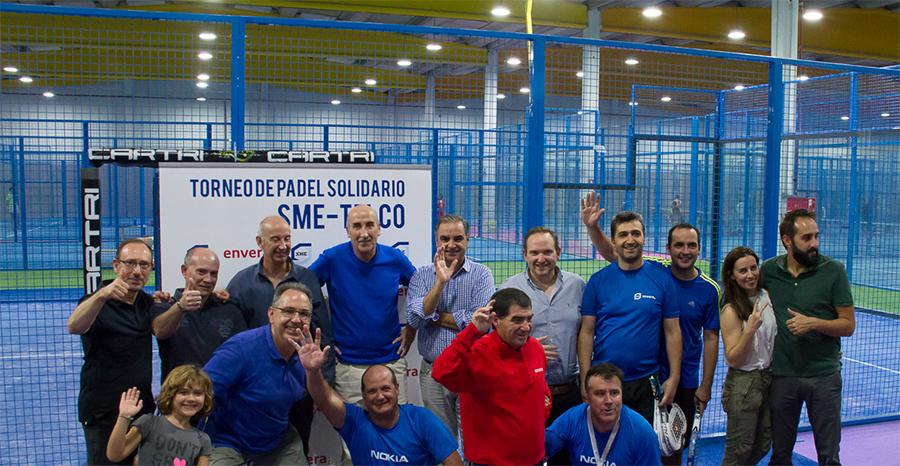 SME TELCO: torneo de pádel solidario